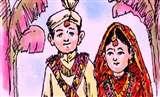बाल विवाह की चल रही थी तैयारी, मुकदमा दर्ज कराने की धमकी देकर रुकवाया Moradabad News
