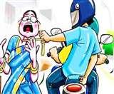 चाकू की नोक पर बदमाशों ने महिला स्टेशन मास्टर की मां के गले से झपटी चेन, महिलाएं दहशत में Dhanbad News,