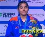 सिल्वर मेडल हासिल करने के बाद मंजू रानी बोलीं- पदक जीतना कोई तुक्का नहीं था