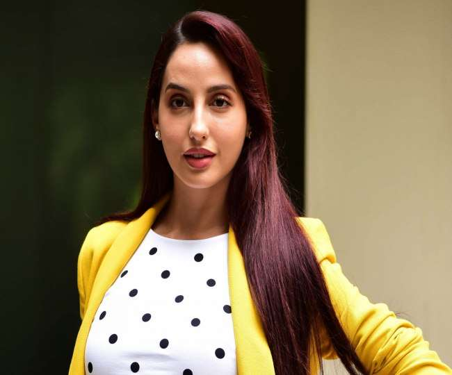 Actress-Dancer Nora Fatehi appears at ED office today to join investigation in money laundering case