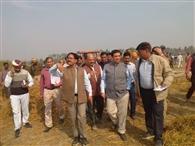 मुख्यमंत्री का दौरा, नूरानपुर दौड़े अफसर