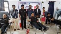 200 सैन्य कर्मियों ने किया रक्तदान