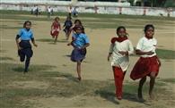बाल दिवस के मौके पर खेल प्रतियोगिता का आयोजन