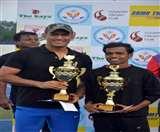 धौनी व सुमित की जोड़ी ने लगातार दूसरी बार जीता टेनिस टूर्नामेंट Ranchi News
