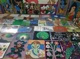 Children's Day : वाराणसी में रामनगर राजकीय बालगृह के बच्चों की कलाकृतियों की लगी प्रदर्शनी