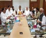 महाराष्ट्र में गठबंधन सरकार बनाने के प्रयास तेज, न्यूनतम साझा कार्यक्रम का मसौदा तैयार