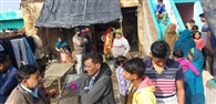परिवार को बंधक बनाकर नकदी समेत एक लाख रुपये की लूट