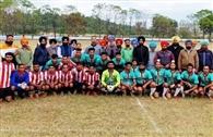 फुटबॉल मैच में खरड़ क्लब ने डीएफए रूपनगर को पीटा