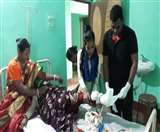 चलती ट्रेन से उतरने के क्रम में महिला का हुआ ये हाल, गंवाने पड़े एक पैर Jamshedpur News