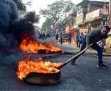 असम में हिंसक हुआ CAA का विरोध, प्रदर्शनकारियों ने तेल के टैंकर में लगाई आग; ड्राइवर की मौत