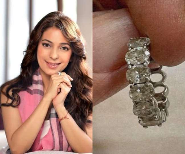 Juhi Chawla loses her diamond earrings in a tweet to help Mumbai Airport Actress