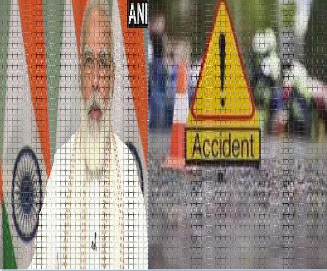 Khaskhabar/कर्नाटक में धारवाड जिले के इटीगट्टी के पास शुक्रवार तड़के मिनी बस और ट्रक के बीच भीषण सड़क दुर्घटना होने से कम से कम 11 महिलाओं समेत 13 लोगों की मौके पर ही मौत हो गयी तथा पांच अन्य घायल हो गए। पुलिस के मुताबिक