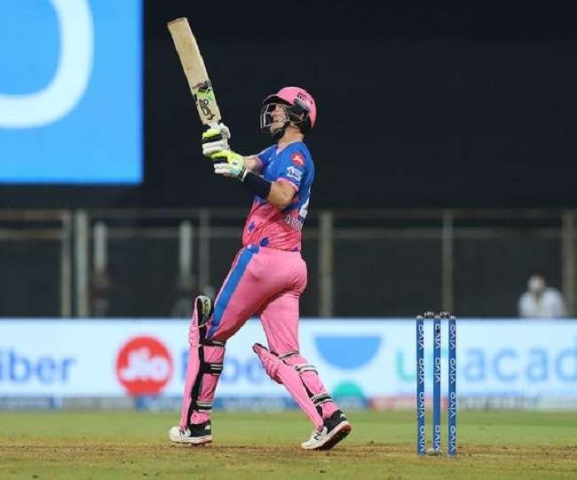 क्रिस मौरिस मे दिल्ली के खिलाफ खेली शानदार पारी- फोटो ट्विटर पेज BCCI