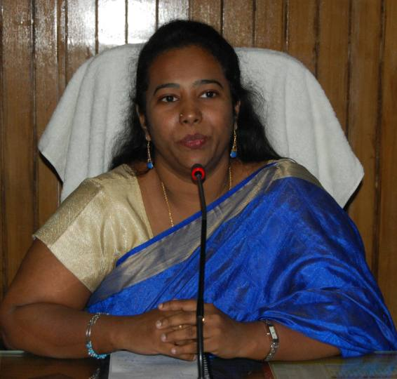 District Magistrate C Indumati