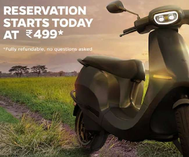 Bookings for the new Ola Electric Scooter to start from today at just Rs. 449 in India