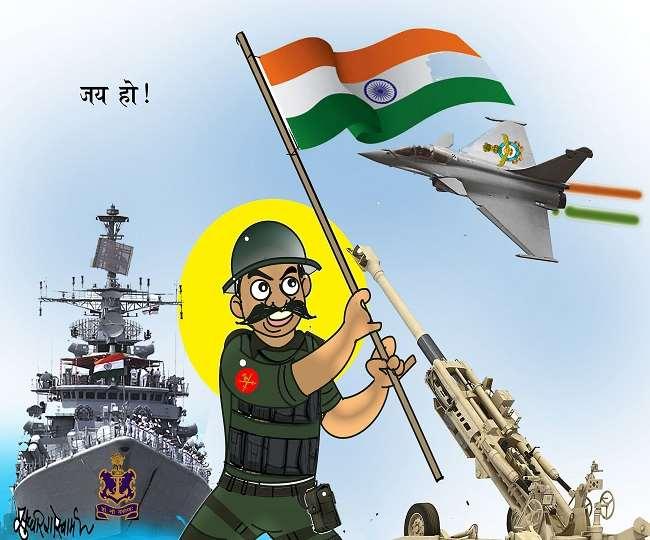 भारत ने अपनी समुद्री ताकत बढ़ाने के लिये देश में निर्मित पहले एयरक्राफ्ट कैरियर विक्रांत का परीक्षण कर लिया है।