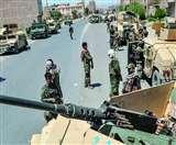 देश की 34 में से सिर्फ सात प्रांतीय राजधानियां ही अफगान सरकार के पास बची है।