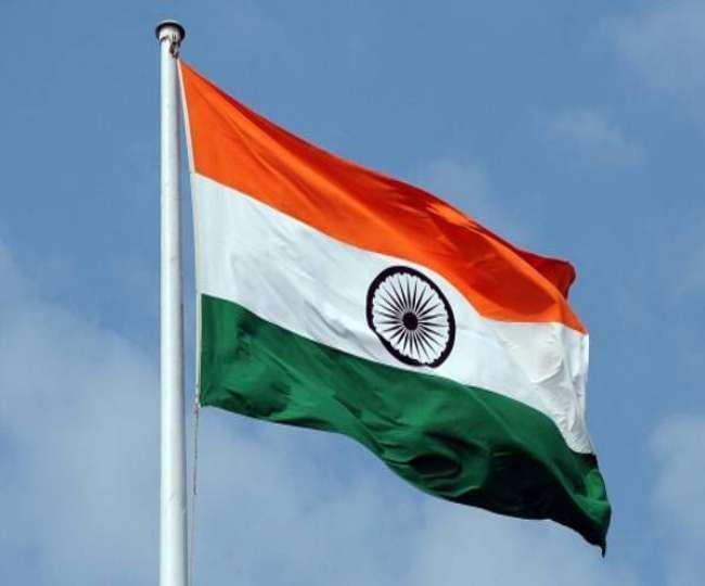 इस पर राष्ट्रध्वज का मतलब भारत और भारतीयता का अलगाववाद पर, सांप्रदायिकता पर जीत का प्रतीक होगा।