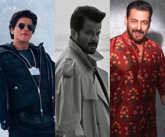 शाहरुख खान, अनिल कपूर, सलमान खान, तस्वीर- Instagram: iamsrk/anilskapoor/beingsalmankhan