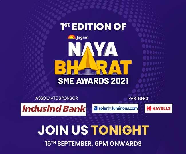 Jagran Naya Bharat SME Awards 2021; 15 September
