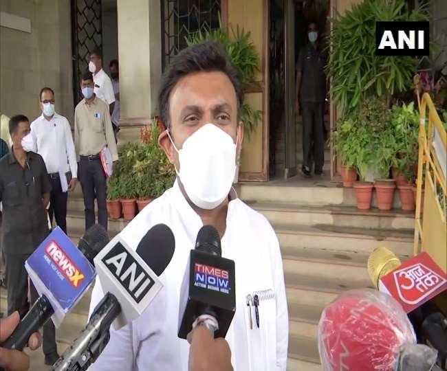 कर्नाटक: स्वास्थ्य मंत्री सुधाकर बोले- बड़ा रक्तदान व टीकाकरण अभियान के साथ मनाएंगे पीएम मोदी का जन्मदिन