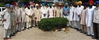 किसानों की मीटिग में धान की खरीद का उठाया मसला