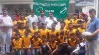 रग्बी फुटबॉल प्रतियोगिता में भाग लेने को ले सारण का टीम मधुबनी रवाना