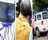 VIDEO: पटना में केंद्रीय मंत्री अश्विनी चौबे के चेहरे पर युवक ने फेंकी स्याही, बोला-मैंने सही किया