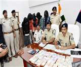 दरभंगा में लूट के 6.80 लाख रुपये के साथ यूपी के पांच बदमाश गिरफ्तार Darbhanga News