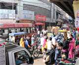 तीन दिन के लिए पांच बाजारों में वाहनों की एंट्री बैन, व्यापारियों का फैसले के खिलाफ प्रदर्शन Ludhiana News