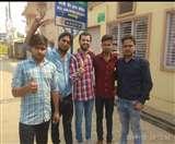 डिप्टी सीएम को काले झंडे दिखाने वाले NSUI के कार्यकर्ता पहुंचे थाने, दी गिरफ्तारी Agra News