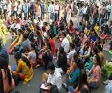 नियुक्ति रद होने से भड़के हजारों निगम शिक्षक, शाहदरा जीटी रोड पर लगाया जाम