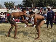 कुश्ती में युवराज, विकास, टाइगर व चंद्र मोहन विजयी