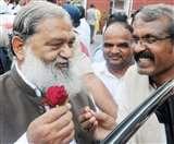 मंत्री बनते ही विज बोले, अधिकारी रिव्यू मीटिंग की तैयारी करें, क्योंकि Gabbar is Back Panipat News