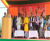 Jharkhand Assembly Election 2019 : पूर्वी सिंहभूम में सीएम की पहली चुनावी सभा, रघुवर ने कहा-महामिलावटी से बचना जरूरी