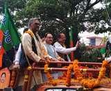 जेपी नड्डा का दून में हुआ भव्य स्वागत, बोले- भाजपा की सत्ता की कोख है बूथ