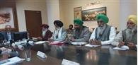 किसानों की मांगों को लागू करने लिए चीफ सचिव ने दिए आदेश