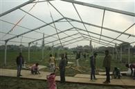 353 वें प्रकाशपर्व के लिए कंगन घाट के 30 एकड़ भूखंड पर गंगा किनारे बस रहा शहर