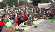 भारतीय किसान यूनियन एकता डकौदा ने इंसाफ न मिलने तक लगाया पक्का मोर्चा
