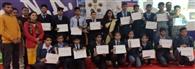 एसएनआर स्कूल में वैज्ञानिकों ने विद्यार्थियों को दी जानकारी