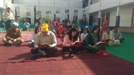 पाइट संस्कृति स्कूल में सुंदर कांड पाठ का आयोजन