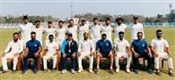 चंडीगढ़ के युवराज चौधरी ने बल्लेबाजी में दोहरा शतक और गेंदबाजी में हैट्रिक लेकर टीम को दिलाई जीत
