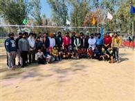 दशमेश स्पोर्ट्स क्लब का वार्षिक वॉलीबाल टूर्नामेंट शुरू