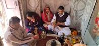 महाशिवरात्रि मेले में किया भगवान शिव की कथा व पूजन अभिषेक