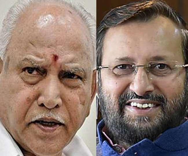 कर्नाटक के मुख्यमंत्री बीएस येदियुरप्पा और केंद्रीय मंत्री प्रकाश जावड़ेकर कोरोना से संक्रमित पाए गए हैं।