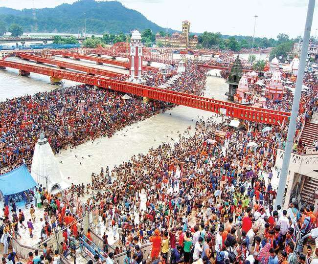 Haridwar Kumbh Mela Government of Uttarakhand Covid-19 Guide Line, Haridwar Kumbh  Mela 2021 Now passengers will be asked even at small stations Corona test  report do you have or not Jagran Special