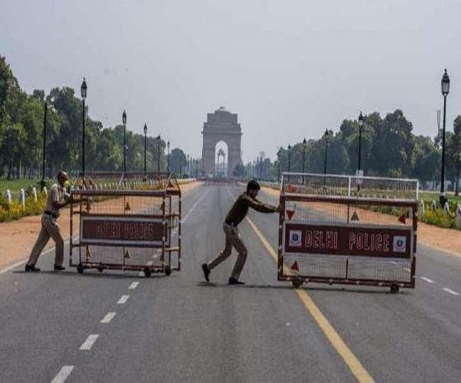 दिल्ली सहित कई राज्यों में वीकेंड लॉकडाउन (फाइल फोटो)