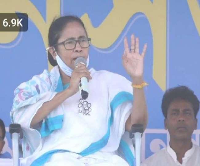 मुख्यमंत्री ने बंगाल में बाहरी लोगों की एंट्री पर रोक लगाने की मांग की