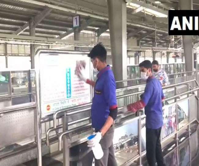 Delhi Metro weekend lockdown train timings: वीकेंड कर्फ्यू को लेकर DMRC ने जारी किया ताजा बयान।