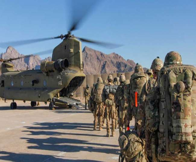 सितंबर के बाद अफगानिस्तान में नहीं दिखाई देगा अमेेरिकी फौजी